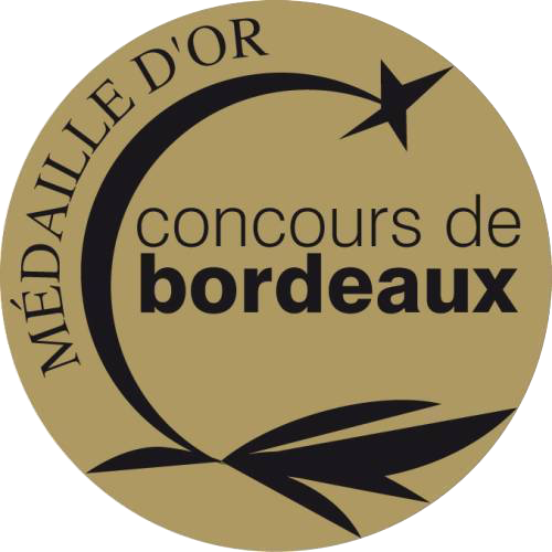 CONCOURS DE BORDEAUX 2017 - MEDAILLE D'OR