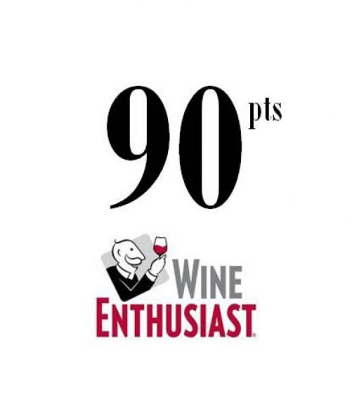 WINE ENTHUSIAST  2018 - 90 Pts