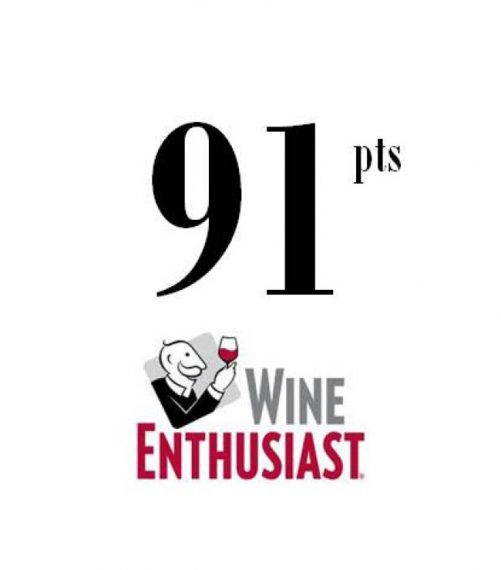 WINE ENTHUSIAST 2018 - 91Pts