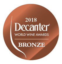 DECANTER  2018 - Médaille de Bronze