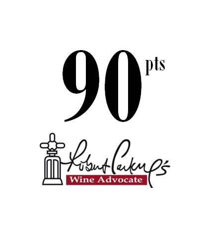 Robert Parker Wine Advocate  2017 - 90 Pts