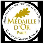 CONCOURS AGRICOLE DE PARIS 2016 - MEDAILLE D'OR