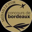 Médaille d'or – concours de bordeaux 2020
