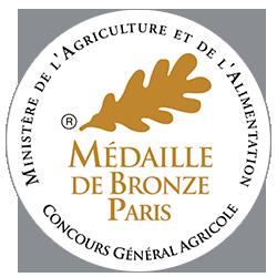 Médaille de bronze –  concours agricole de Paris