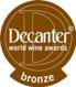 Médaille de bronze – Concours Decanter